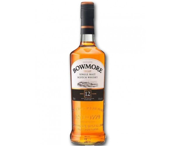 Bowmore 12 Year Old Islay Single Malt Scotch Whisky Malts